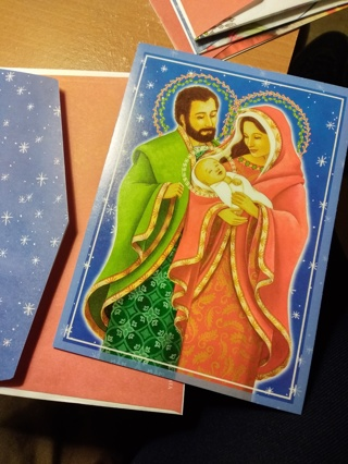 Set of 5 Christmas Cards