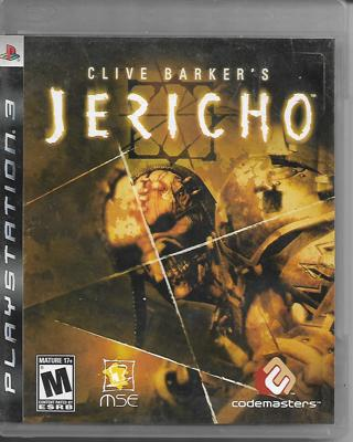 PS3 Game - Clive Barker's - Jericho