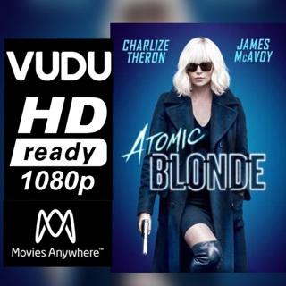 ATOMIC BLONDE HD VUDU CODE ONLY