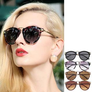 [Gift to get seller Wings] Sunglasses Arrow Style Eyewear Round