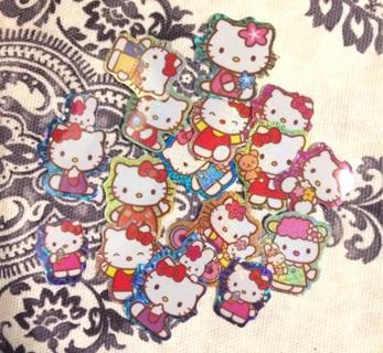 Kawaii Hello Kitty sticker flakes #1