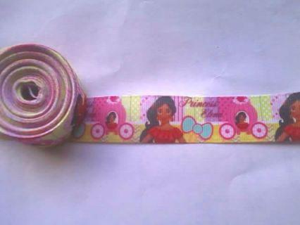 1yd Princess Elena grosgrain ribbon