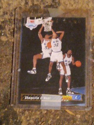 1992/93 Upperdeck Orlando Magic Shaquille O'Neal RC