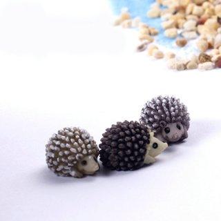 5PCs Hedgehog Fairy Garden Miniatures Micro Landscape Bonsai Plant Garden Decor DIY Craft Ornament