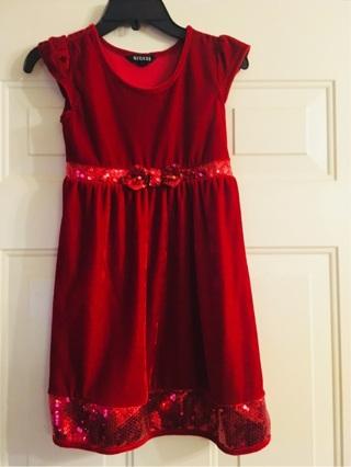 George Girls Red Dress