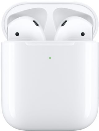 Apple - AirPods with Wireless Charging Case (Latest Model) - White