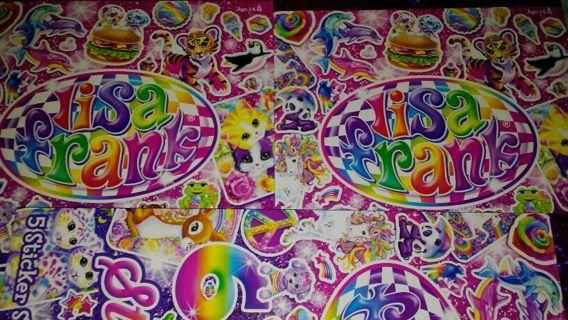 **30** LISA FRANK Sticker's! #2/20