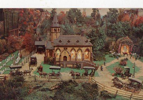 Vintage Unused Postcard: The Shrine Church, Mini Dutch Country, PA