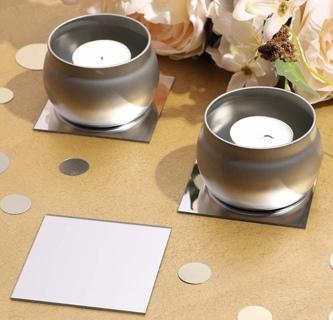 Mirror adhesive sheets
