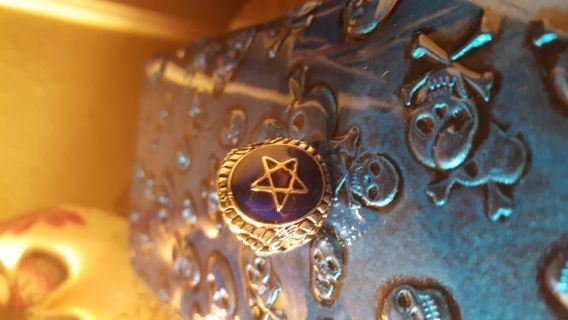 Wiccan priestess ring