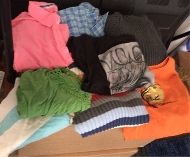 Lot of clothes