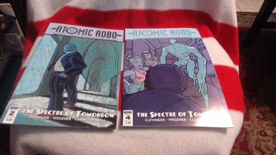 New 2 Atomic Robo Comic Books