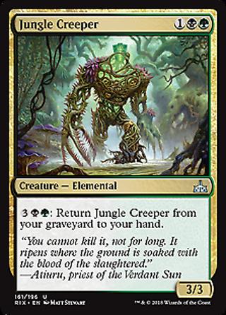 Jungle Creeper-Foil Rivals of Ixalan Mtg