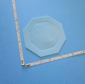 "STENCILS: 2 ""OCTAGON"" / 1 ""SQUARE"" (NEW) !!! ~ SIZES: 3 1/2"", 2 1/2"", 1 3/8"" !!! ~ FREE SHIPPING !!!"