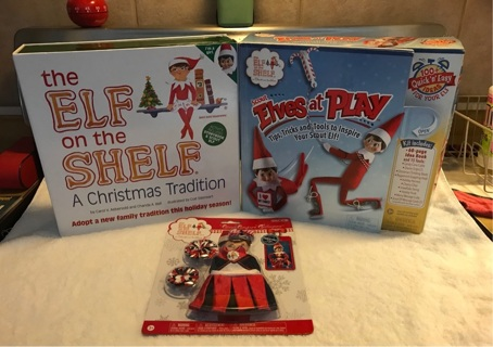 The Elf on the Shelf Doll and Book and Much more Look at pictures