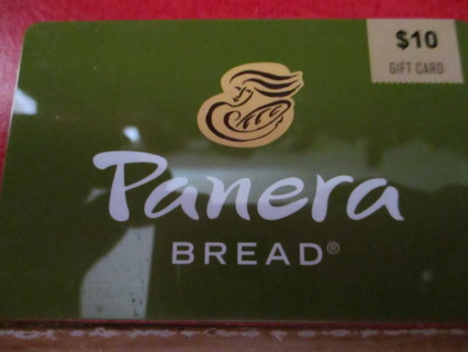 $10.00 PANERA BREAD GIFT CARD