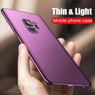 H&A Luxury Slim PC Frosted Hard Protective Case For Samsung Galaxy S9 S9 Plus Full Coverage Case F