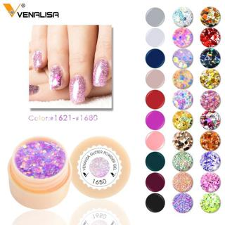 #61502 Venalisa supply UV Gelpolish Nail Gel 180 Colors Pure Color  soak off uv led lamp 5ml Polis
