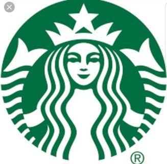 Starbucks $10.00