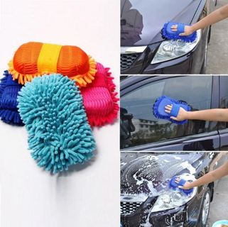 1pc Microfiber Washing Sponge for Cleaning Car/Toilet/Kitchen