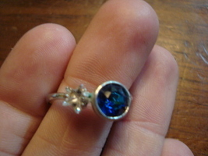 Silver Plated Ring Size 6