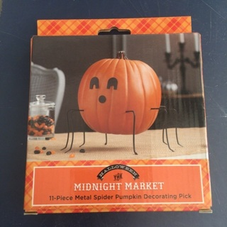 Halloween Pumpkin Decorating Kit - Spider *** New***