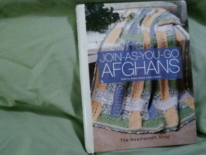 Big join as you go afghans crochet h c
