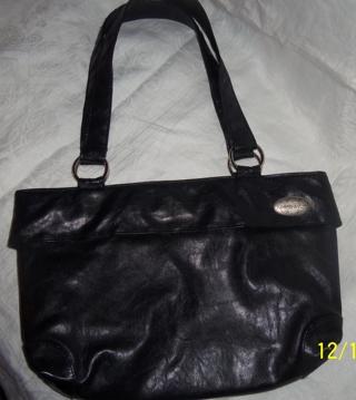 Maggie Daniel Reverse A Purse Large Black Leather Base Bag W 4. View  Fullscreen 7028d8a7cd33a