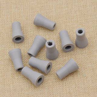 10 Pcs Dental Saliva Ejector Weak Suction Rubber Snap Tip Adapter Replacement