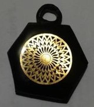 Handmade Resin Pendant