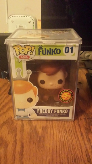 Funko Pop! Asia Freddy Funko Monkey King #01 2015 Exclusive Brand New Factory Sealed