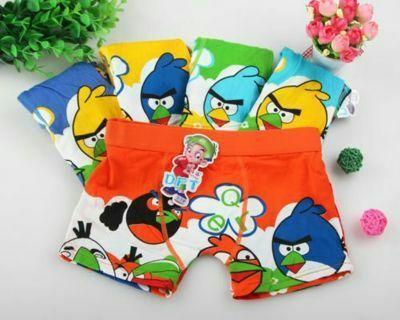 Children's Cotton Cartoon Underwear