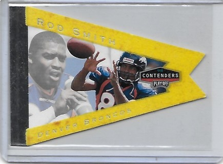 Rod Smith 1998 Contenders Pennants Yellow Flet #31
