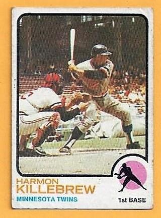 1973 Topps #170 Harmon Killebrew Minnesota Twins