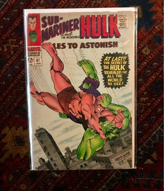 Tales to Astonish #87 12 cent Cover Silver Age