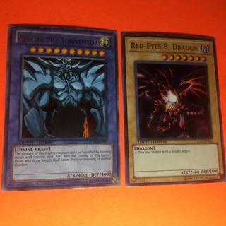 2 Yu Gi Oh 1996 Cards!