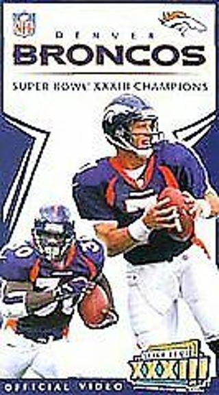 NFL DENVER BRONCOS SUPER BOWL XXXIII CHAMPIONS VHS video brand new & sealed s6