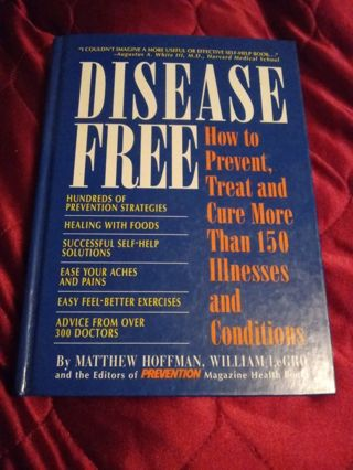 Like New Book Disease Free