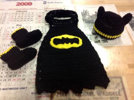Knitting pattern batman cape anaffo for free handmade batman superhero costume photo prop cape hat boots size 03 mo dt1010fo