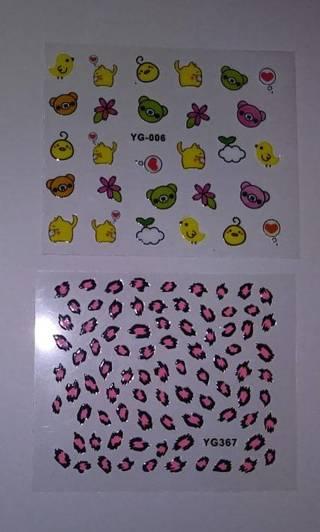 ʕ•ᴥ•ʔ Bears/Cats/Chicks & Animal Prints ʕ•ᴥ•ʔ Nail Art Sheets ☆VERIFIED USERS ONLY PLEASE☆