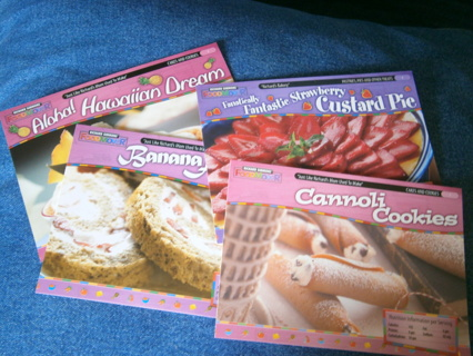 4 Recipe Cards for Desserts from Richard Simmons