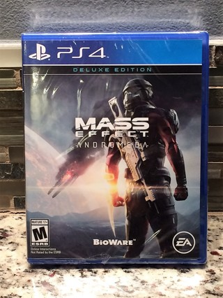 Mass Effect: Andromeda - Deluxe Edition  (PS4 / SEALED)