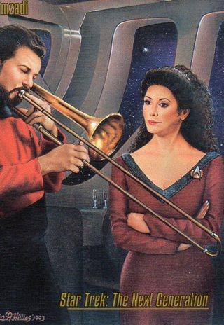 1993 Star Trek Collectible/Trade Card: The Next Generation: Imzadi