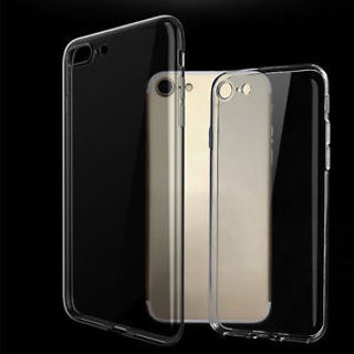 Soft Rubber Phone Case Cover For iPhone 6S 6SPlus 7 7Plus Flexible Ultra Thin