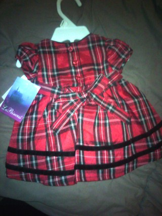 5bfdb900a Free: nwt baby girl christmas dress size preemie - Baby Clothes ...