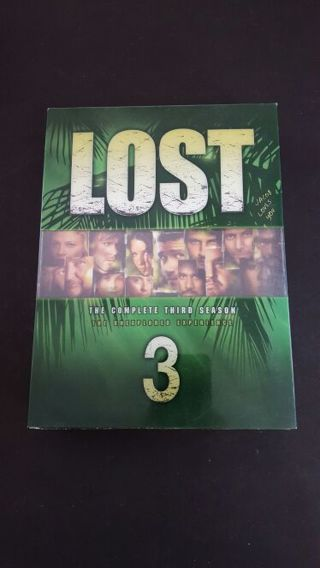 LOST The Complete 3rd Season! Great Condition!