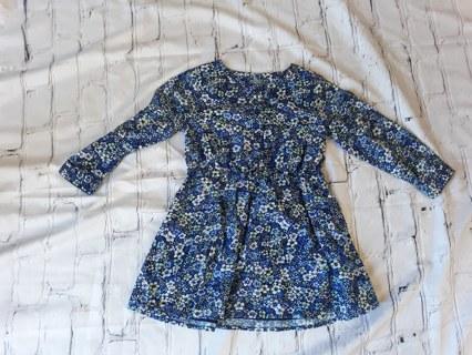 NWOT BABY GAP FLORAL DRESS Size 2