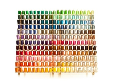 Embroidex - 550 yards each spool 260 Spools Polyester Embroidery Machine Thread Brother Colors
