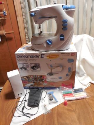 Free Sewing Center Dressmaker II As Seen On TV Item Gently Used Impressive Dressmaker Ii Sewing Machine