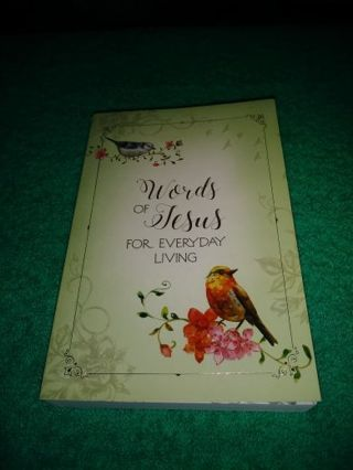 """❤♡❤♡❤♡BRAND NEW """"WORDS OF JESUS FOR EVERYDAY LIVING"""" BOOK❤♡❤♡❤+BONUS BOOKMARK!(RE-LIST) NO PAYMENT!"""